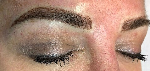 Microblading Before & After After Microblading