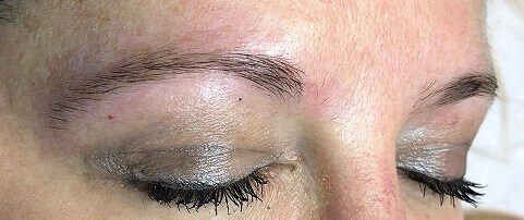Microblading Before and After Before