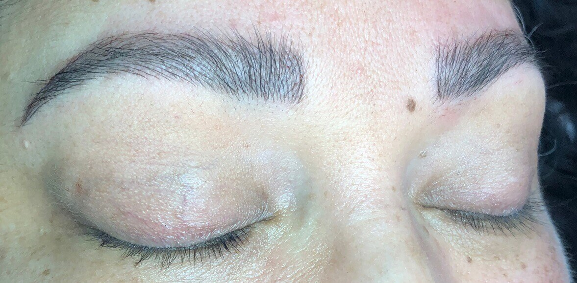 Before & After Microblading After